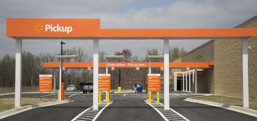Walmart Drive Up in Minnesota, courtesy Star Tribune