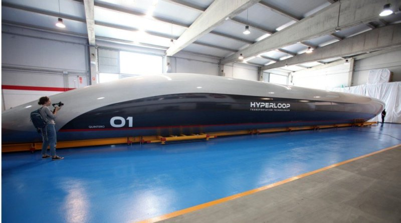 First Hyperloop Passenger Pod Planned For Next Year Market Mad House