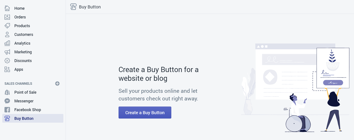 Shopify Lite store creation step-1