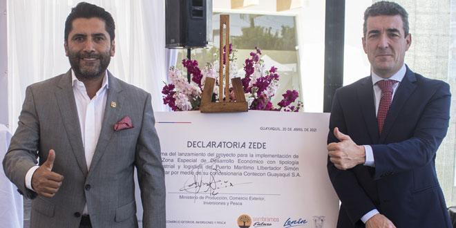 ICTSI Ecuador unveils special economic zone at the Port of Guayaquil