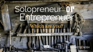 Solopreneur or Entrepreneur?