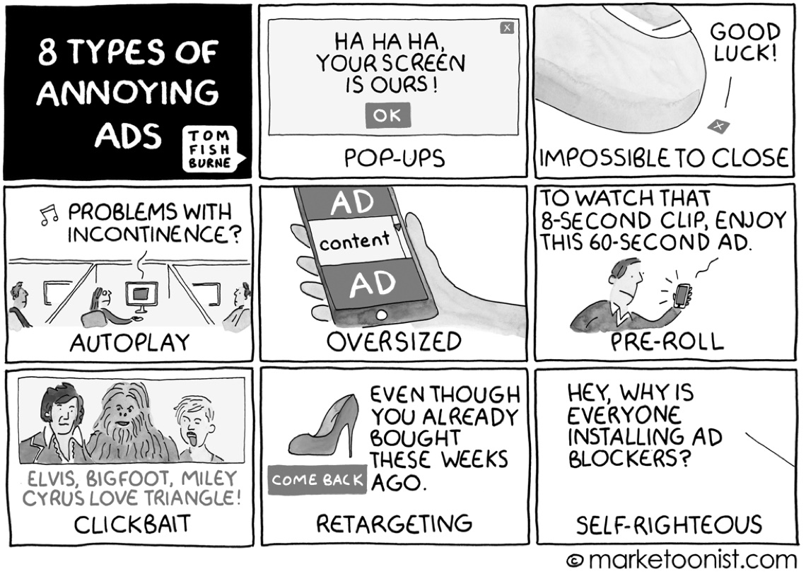 Your Ad Ignored Here A Cartoon Book By Tom Fishburne