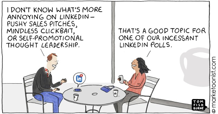 Personal Branding cartoon