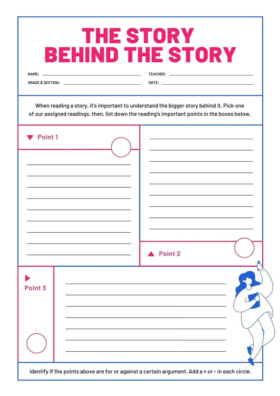 Bicolor Author S Purpose And Pov Printable Worksheet
