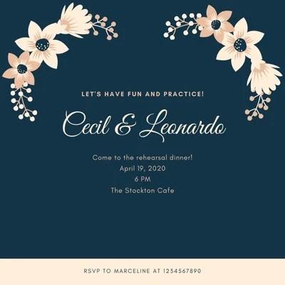 wedding invitation templates to