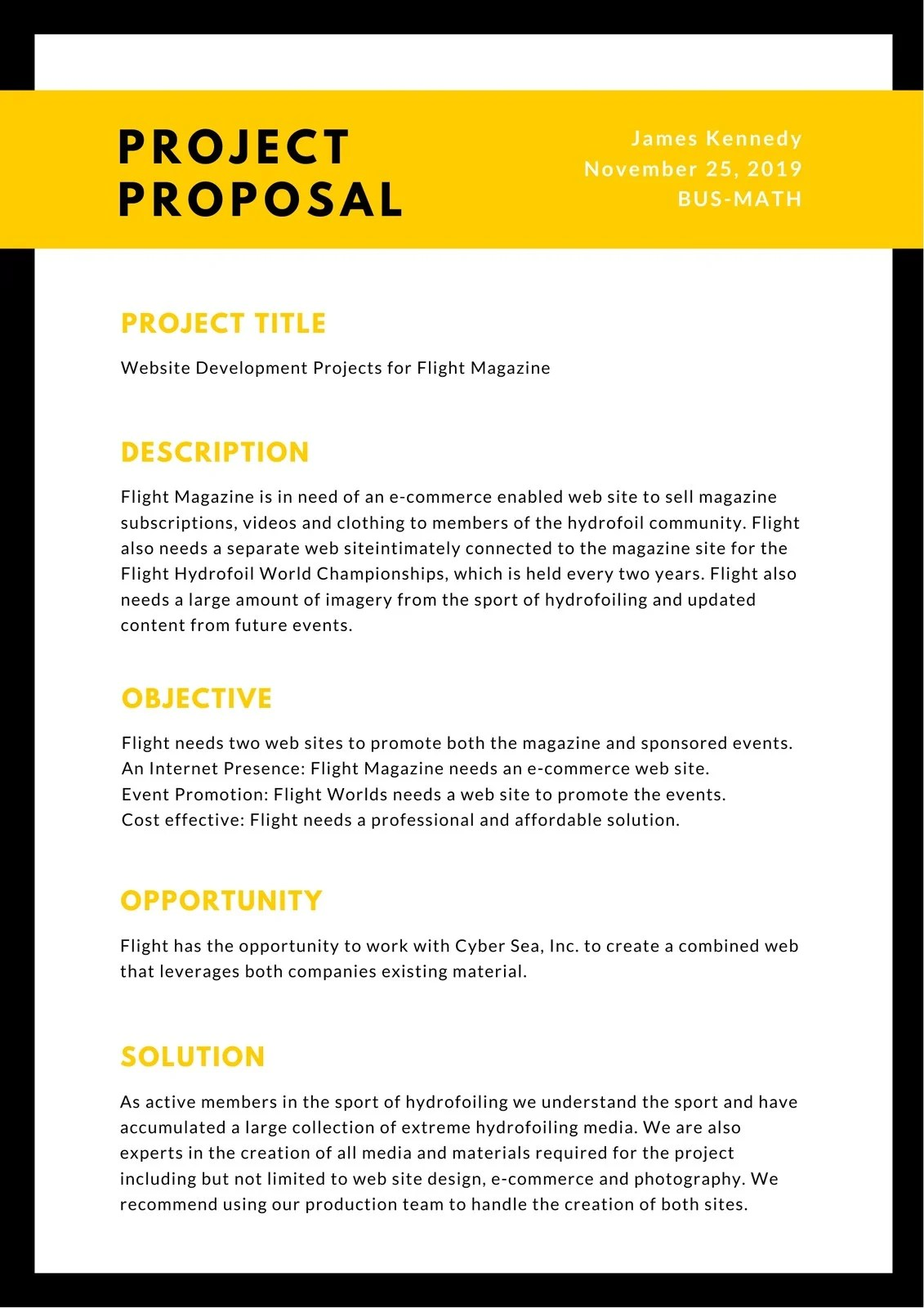 Felix von blücher (navigant) submission date: Free Printable Editable Proposal Templates For Work Or School Canva