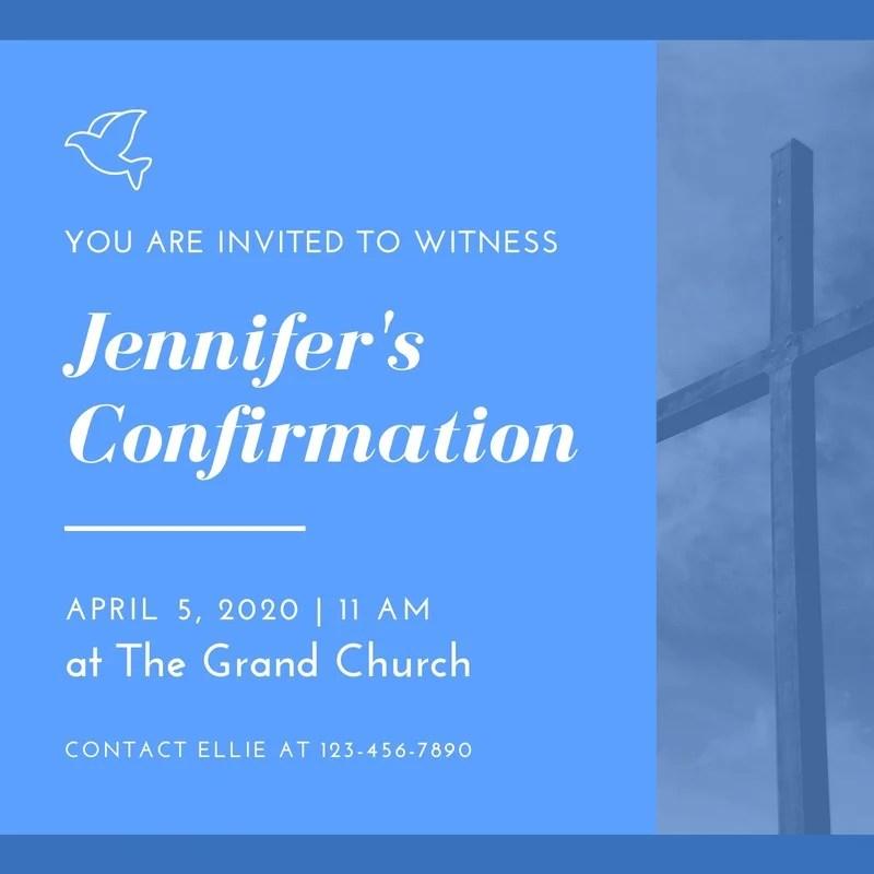free printable church invitation