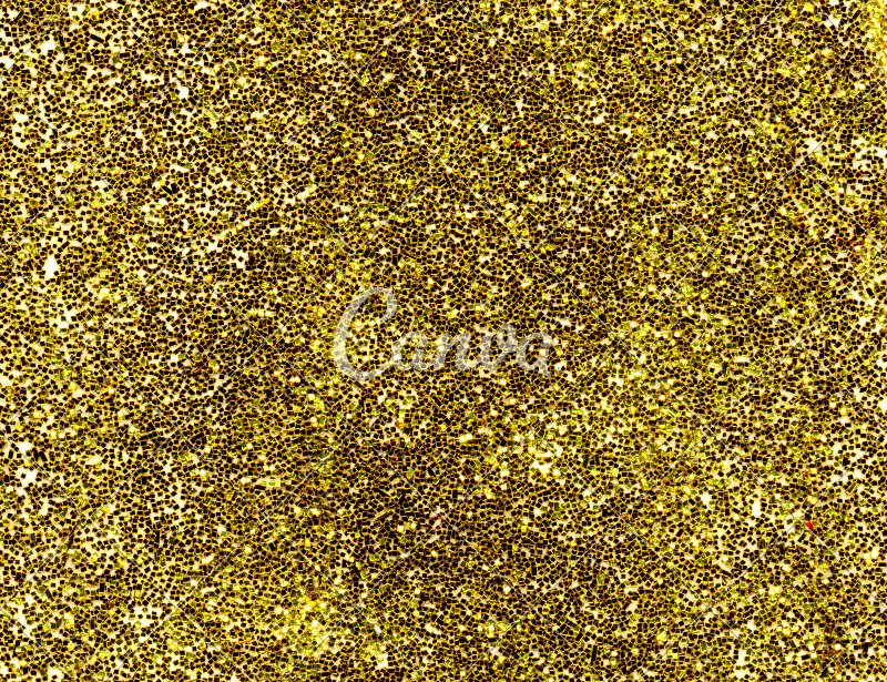 Close Up Of A Gold Glitter Background
