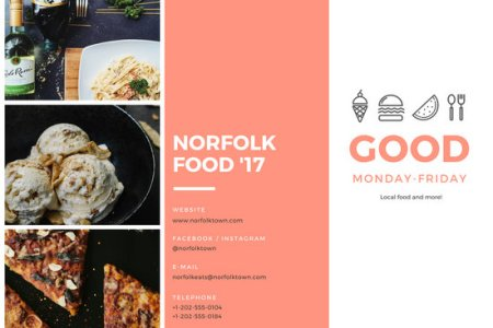 Customize 930  Brochure templates online   Canva Food Festival Brochure