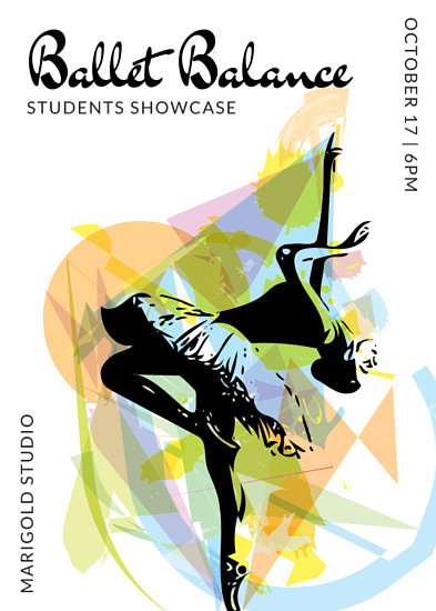 Customize 83 Dance Flyer Templates Online Canva