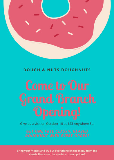 Customize 69 Grand Opening Flyer Templates Online Canva