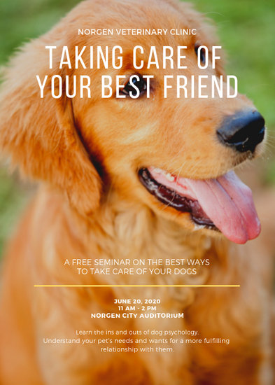 Customize 66 Dog Walker Flyer Templates Online Canva