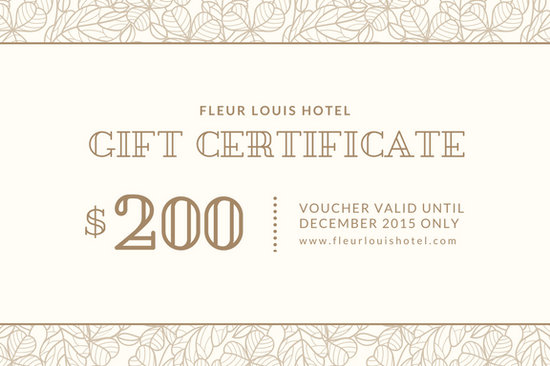 Customize 2645 Gift Certificate Templates Online Canva
