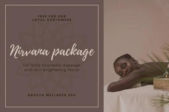 Customize 100 Massage Gift Certificate Templates Online Canva