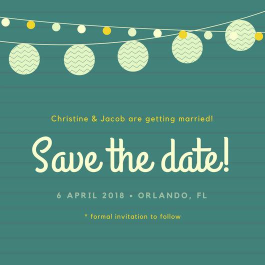 Invitation Save Date