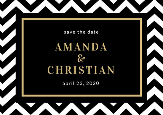 Save Date Cards Template
