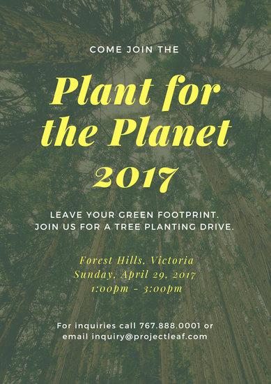 Customize 95 Environmental Protection Poster Templates