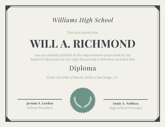 Official Graduation Invitations