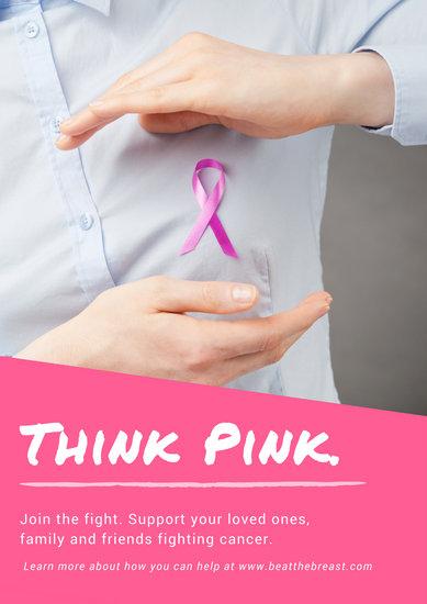 Customize 556+ Breast Cancer Awareness Poster templates ...