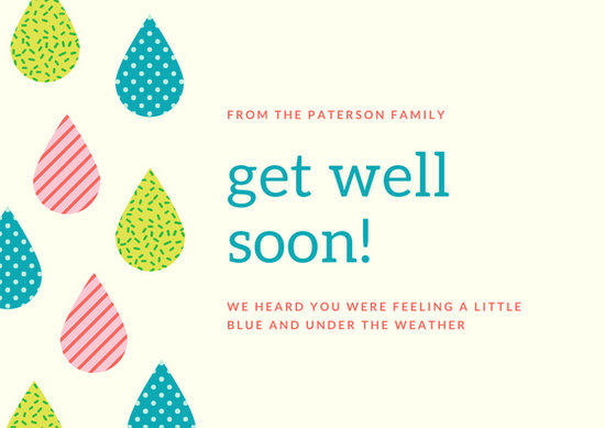 Customize 614 Get Well Soon Card Templates Online Canva