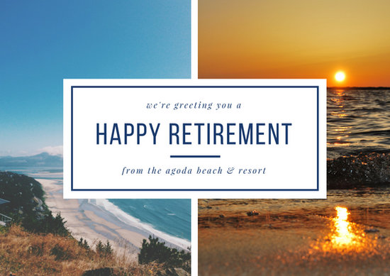 Customize 43 Retirement Card Templates Online Canva