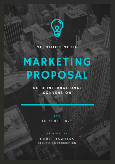 Customize 111 Marketing Proposal Templates Online Canva
