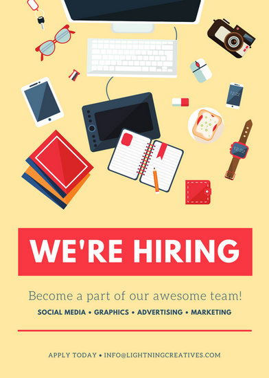 Job Vacancy Announcement Templates Canva