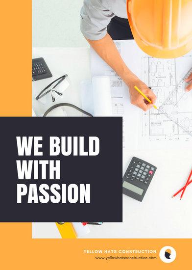 Customize 56 Construction Flyer Templates Online Canva