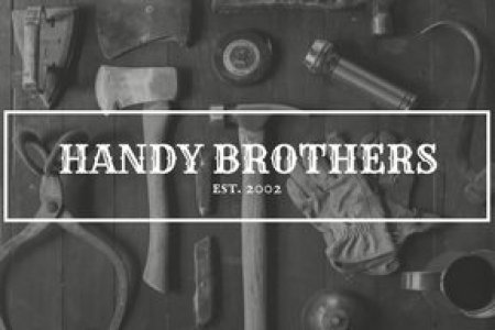 Customize 45  Handyman Business Card templates online   Canva Monochrome Vintage Photo Handyman Business Card  Free