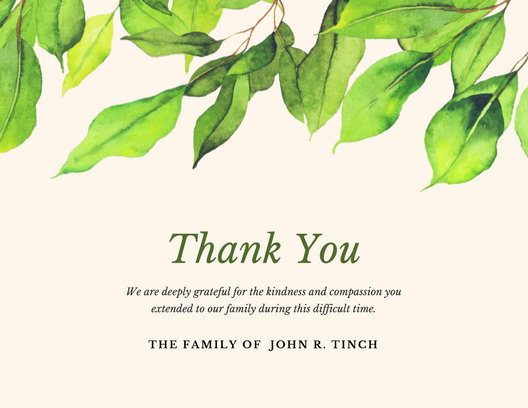Customize 3560 Thank You Card Templates Online Canva