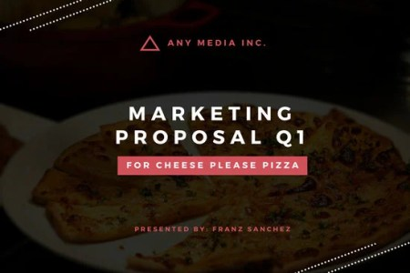 Customize 202  Proposal templates online   Canva Red Marketing Proposal Presentation