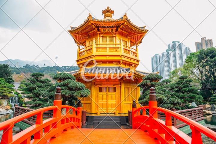 oriental pavilion in nan lian garden, hong kong - photos by