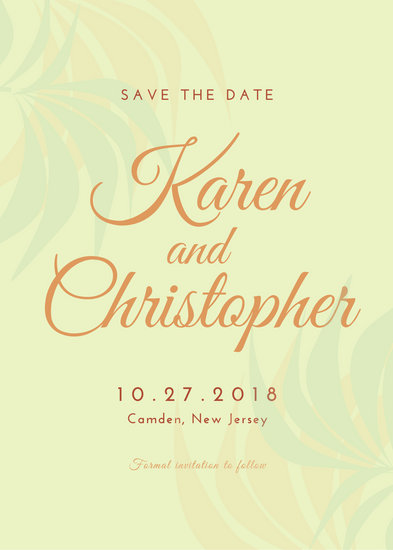 Save The Date Invitation Templates