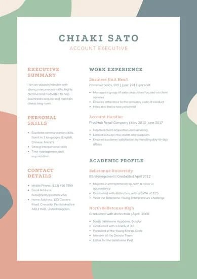 If formatting a resume isn't your thing, hloom has 275 free microsoft word templates to download. 29 Free Resume Templates For Microsoft Word How To Make Your Own
