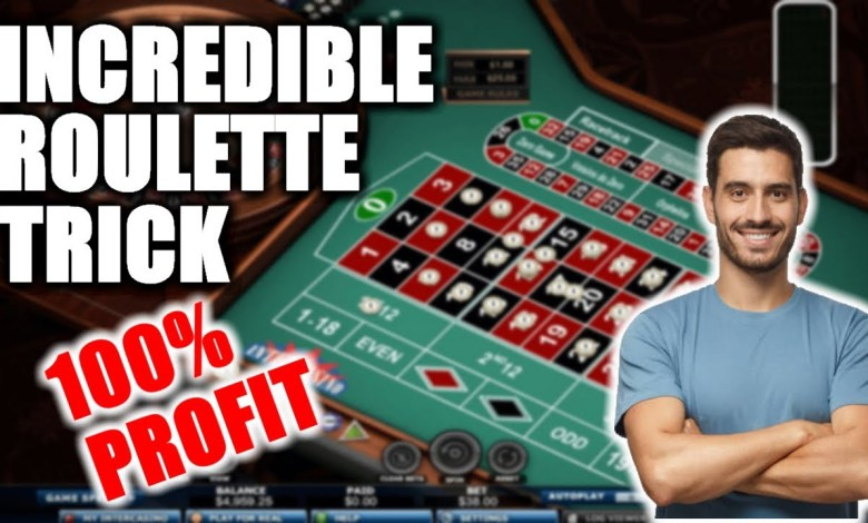 Best Online Roulette System