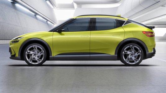 Electric car Genesis GV60 based on the Hyundai Ioniq 5 presented - Market Research Telecast