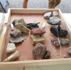 Rocks from throughout Minnesota.