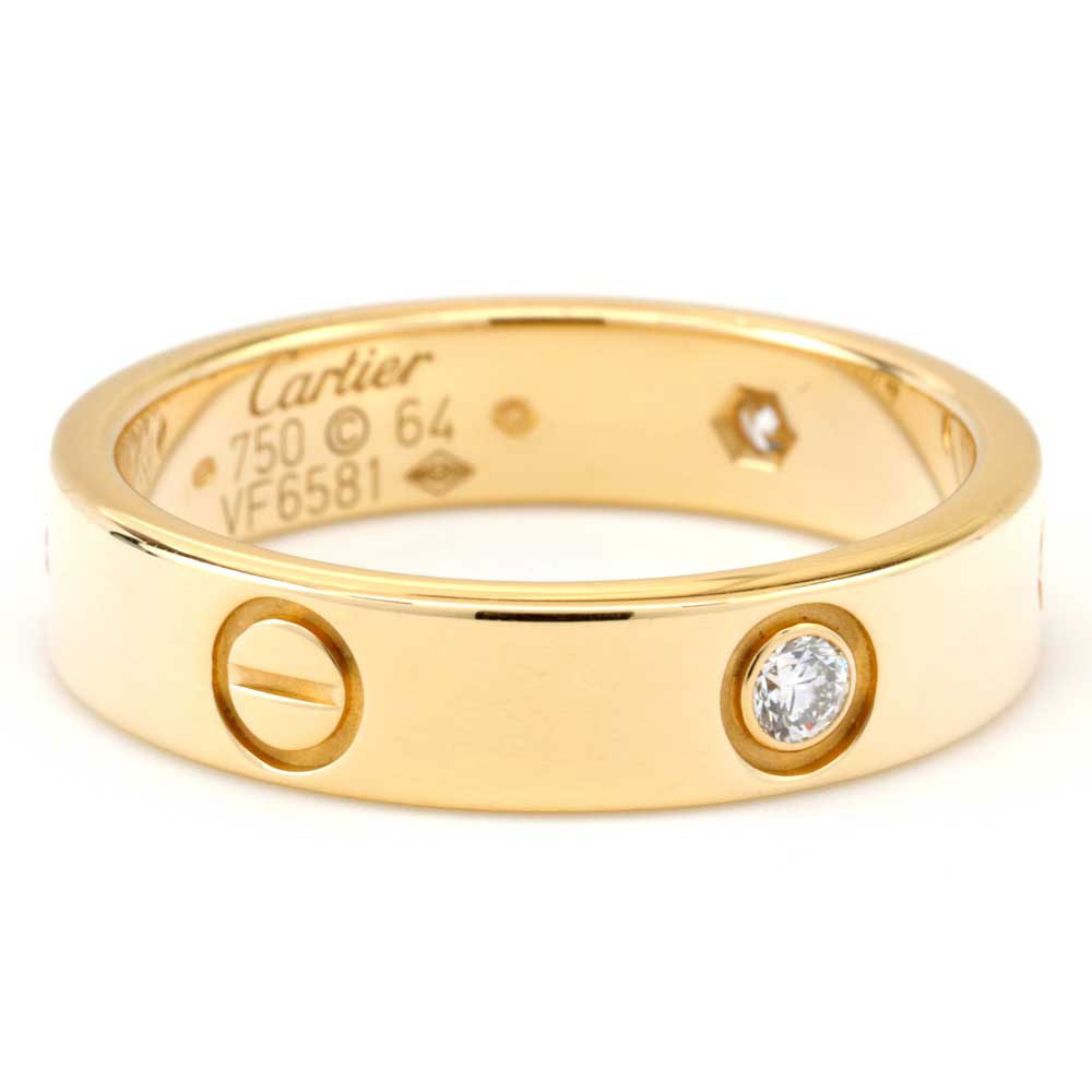 18K Yellow Gold Diamond Cartier Love Band – Market Street ...
