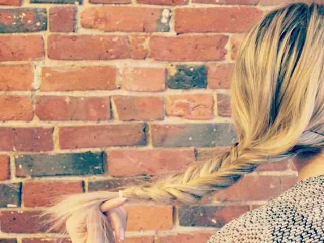 Simple Hairstyles | The Fishtail Braid