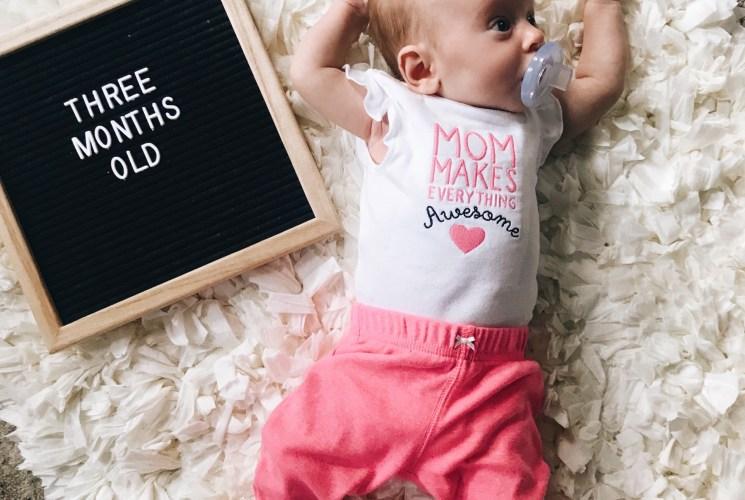 Baby Update: Sloane at Three Months