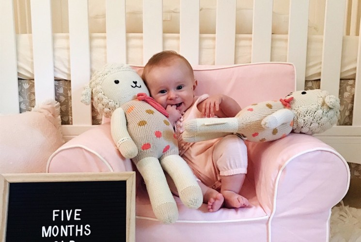 baby update | five months old