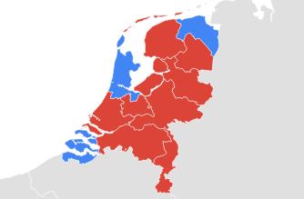 nederland-kaart