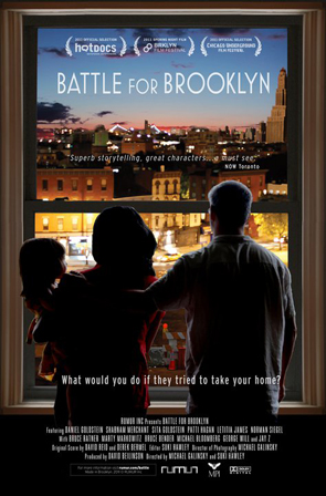"""Battle for Brooklyn"" playing this weekend. Meetup?"