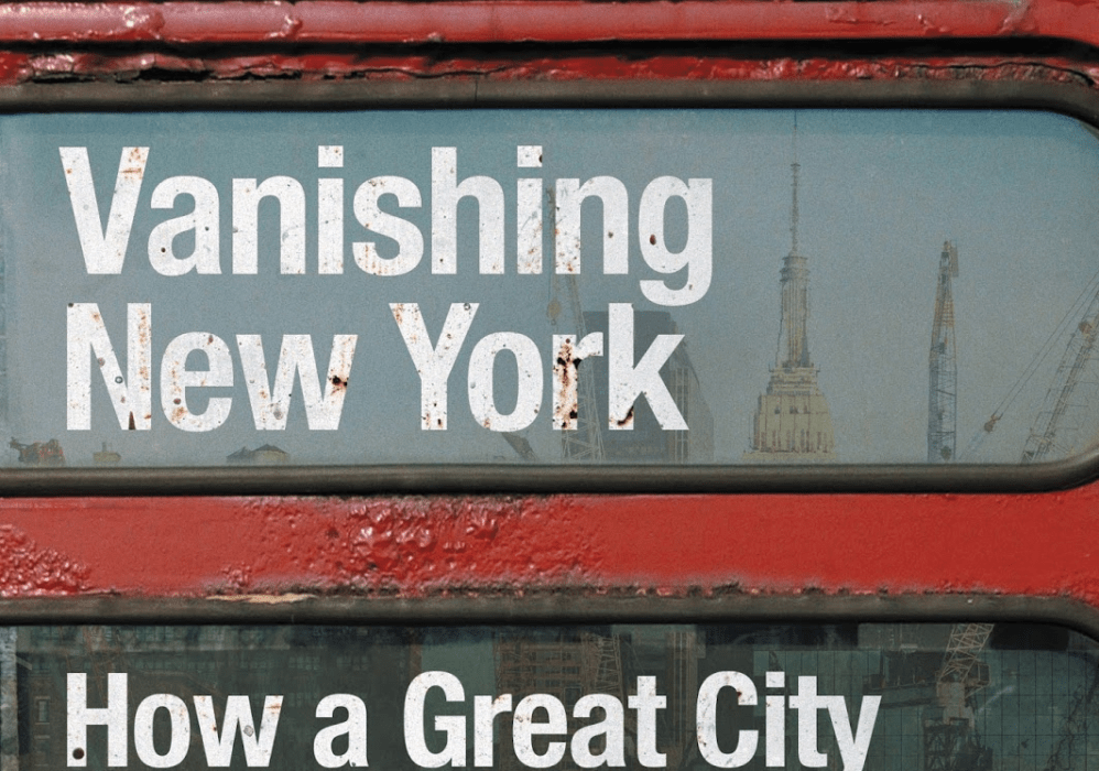 Mini review: Vanishing New York, by Jeremiah Moss