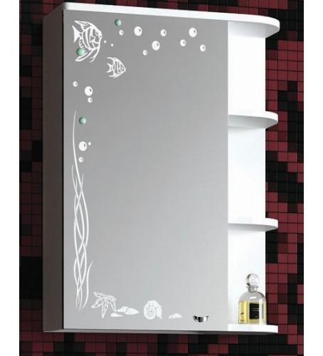 Зеркальный шкаф БРИЗ 45 - купить в СПб