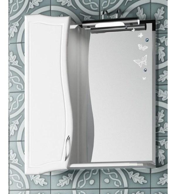 Зеркальный шкаф МАХАОН-55 левый - купить в СПб