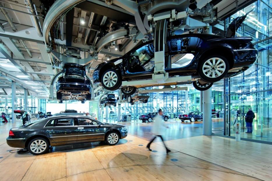 Fábrica de cristal Volkswagen