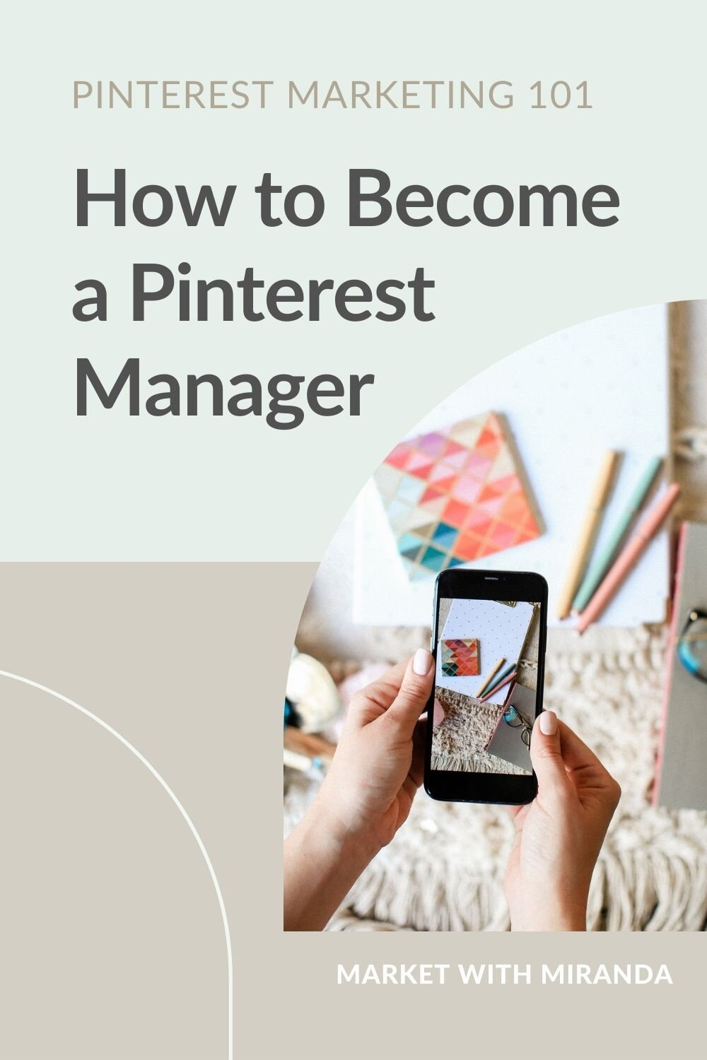 successful Pinterest manager