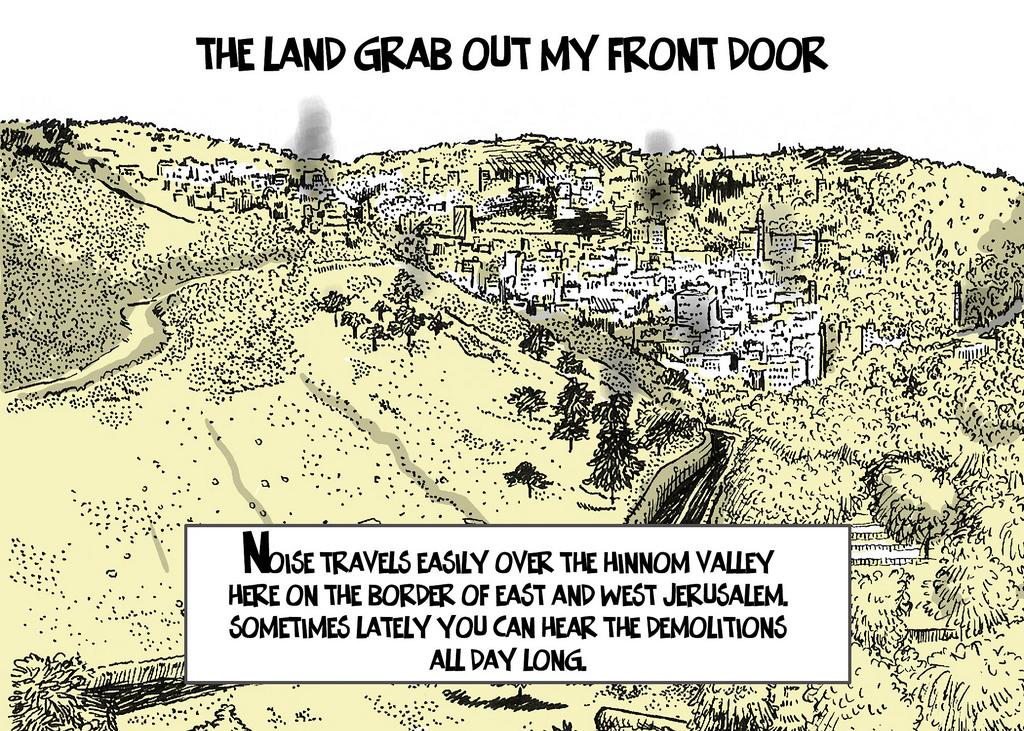 land grab - orner