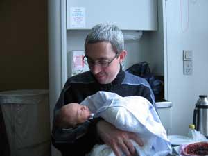 Onkel mig og den lille Alma